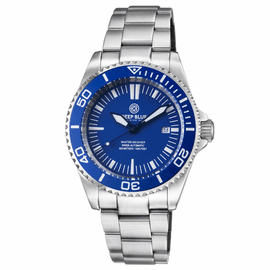 MASTER 500 42MM  SWISS AUTOMATIC DIVER BLUE DIAL