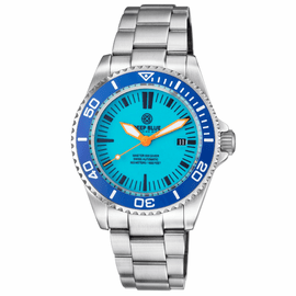 MASTER 500 42MM  SWISS AUTOMATIC DIVER BLUE LUME DIAL