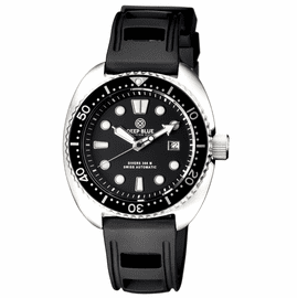 MILITARY DIVER 300 SWISS AUTOMATIC � DIVER BLACK SS