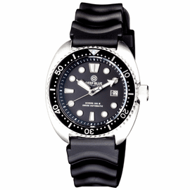 MILTARY DIVER ON VENT RUBBER STRAP