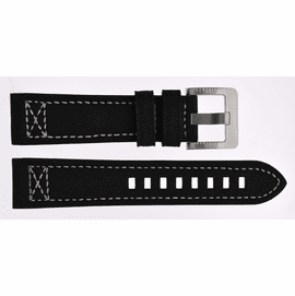 Pilots Cross Stitch Leather Strap 20/22/24mm  with SS or PVD   Buckle