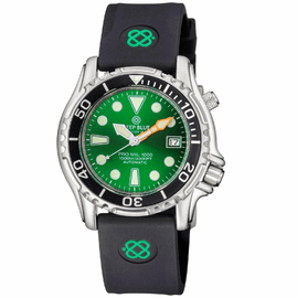 PRO MIL 1000 42MM AUTOMATIC SILICON STRAP GREEN DIAL