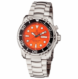 PRO SEA DIVER 1000M BRACELET BLACK BEZEL ORANGE SUNRAY DIAL