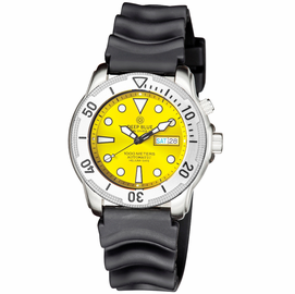 PRO TAC 1000M AUTOMATIC DIVER- SILVER BEZEL YELLOW DIAL