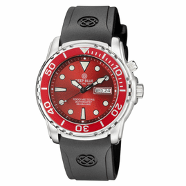 PRO TAC DIVER 1000M AUTOMATIC RED BEZEL  RED DIAL