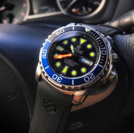PRO TAC /PRO SEA DIVER ON STRAP