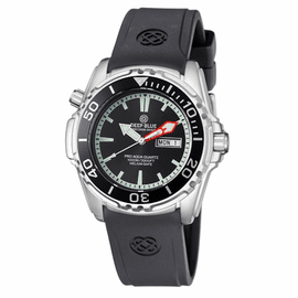 ProAqua 1000 Quartz Black Dial