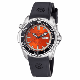 ProAqua 1000 Quartz Orange Dial