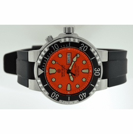 Sea Diver on Optional PU Strap