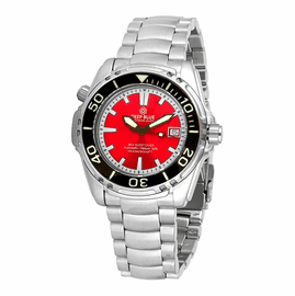 SEA QUEST 1500M AUTOMATIC DIVER RED