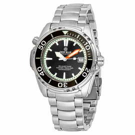 SEA QUEST 42MM  1500M AUTOMATIC DIVER BLACK