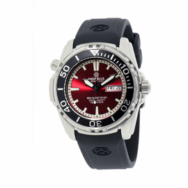 SEA QUEST DIVER 1000 - RED DIAL