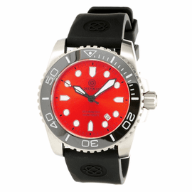 SEA RAM 500 RED DIAL-BLACK/WHITE BEZEL