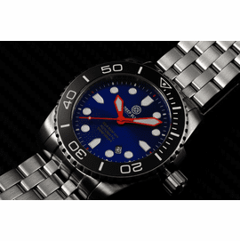 SEA RAM AUTOMATIC - BLACK/BLUE