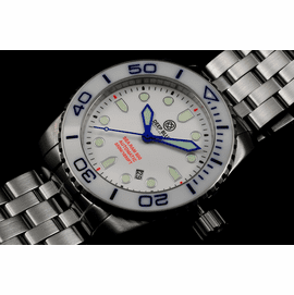 SEA RAM AUTOMATIC - WHITE/BLUE