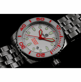 SEA RAM AUTOMATIC - WHITE/RED