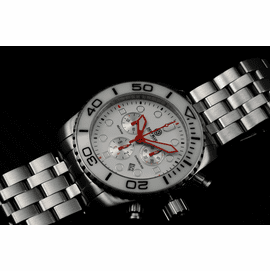 SEA RAM CHRONOGRAPH  WHITE CERAMIC  BEZEL COLLECTION- 1 COLORS