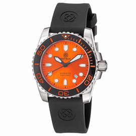 SEA RAM DIVER 500 - ORANGE BLACK/ORANGE  BEZEL