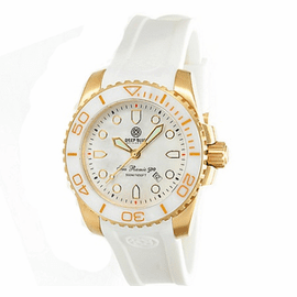 SEA RAMIC GOLD - WHITE MOTHER OF PEARL DIAL