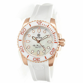 SEA RAMIC ROSE GOLD  WHITE MOTHER OF PEARL DIAL