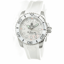 SEA RAMIC WHITE MOTHER OF PEARL DIAL