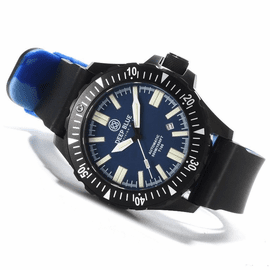 Sold Out - Day/Night 44.5mm PVD BLUE DIAL  FLAT TUBES