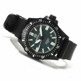 Sold Out - Day/Night 44.5mm PVD GREEN DIAL  FLAT TUBES