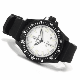 Sold Out -Day/Night 44.5mm PVD WHITE Dial FLAT TUBES