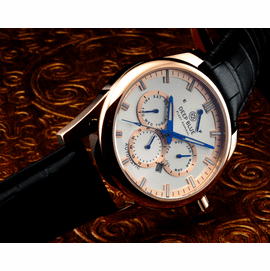 SOLD OUT - Fleet Admiral – Polish Rose Gold Case- Silver Dial