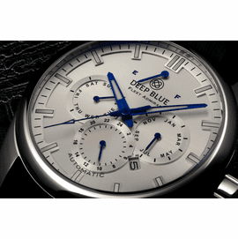 SOLD OUT -  Fleet Admiral – Polish Stainless Case- Silver Dial
