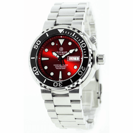 Sun Diver 3 1k Red Sunray Dial