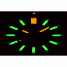 T-100 TRITIUM FLAT TUBE AUTOMATIC WATCHES