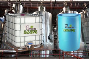 Industrial Bulk Agave Totes & Drums