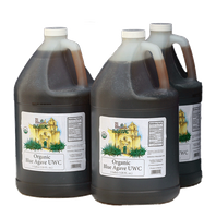 USDA Organic Raw Blue Agave (UWC) Amber (3/1 gallon Case)