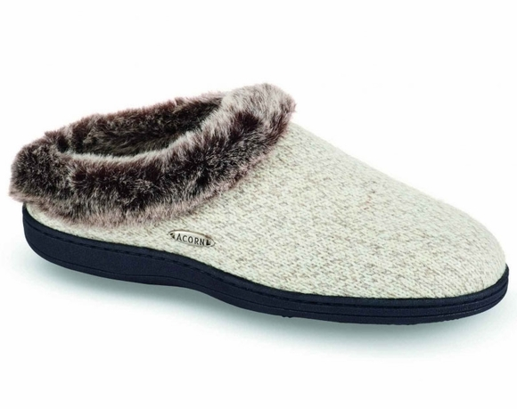 Acorn Chinchilla Clog Ragg - Women's Slipper