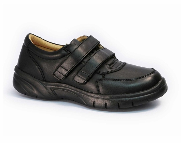 Apis 888-V - Men's Casual Dress Velcro Shoe