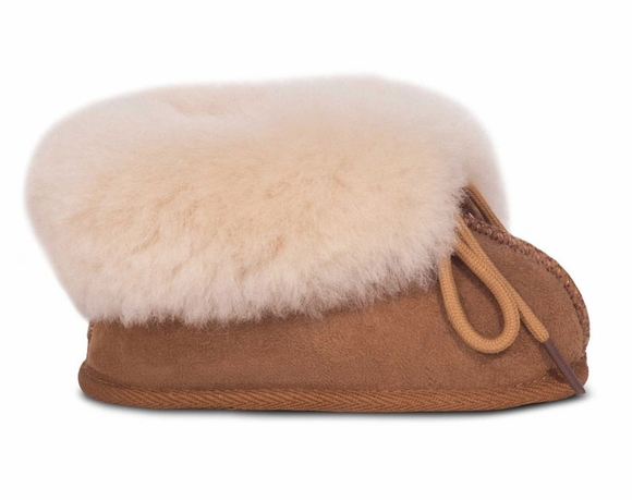 Cloud Nine Sheepskin Baby Booties - Children's Shoe