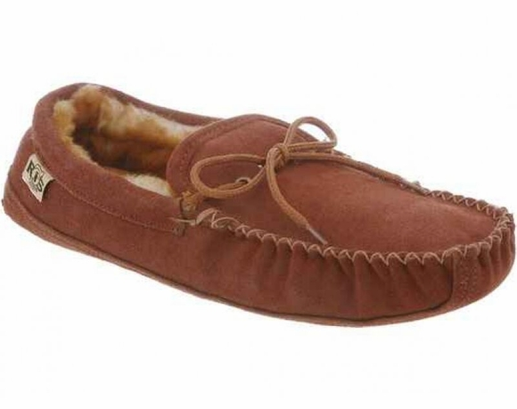Cloud Nine Sheepskin - Men's Soft Sole Moc