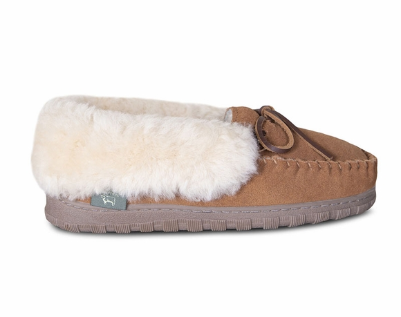 Cloud Nine Sheepskin Sienna - Women's Moccasin