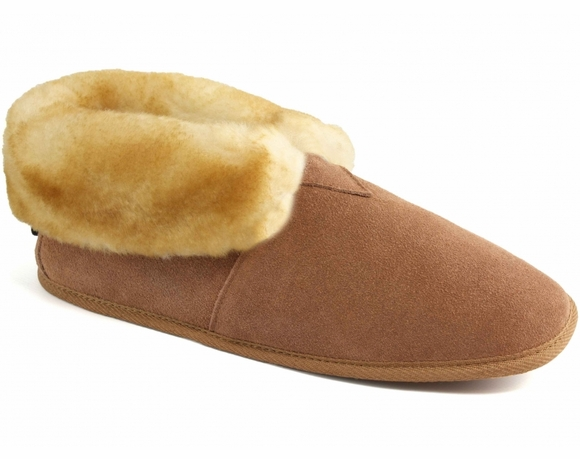 Cloud Nine Sheepskin Soft Sole Booties - Men's Slippers
