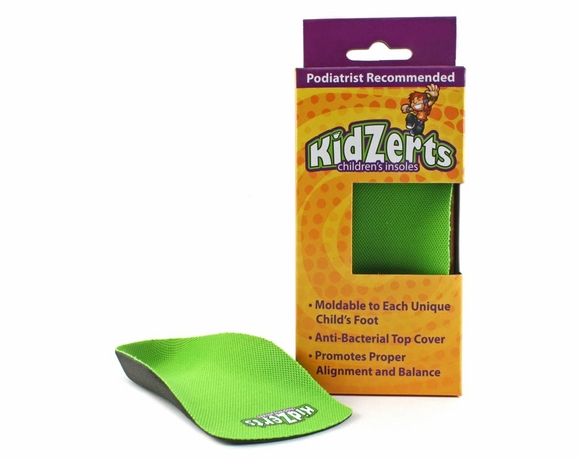 KidZerts Children's 3/4 - Arch Support Insoles