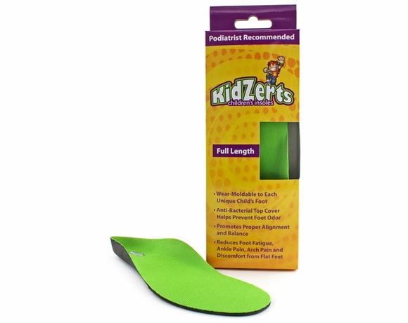 KidZerts Full Length Children's Arch Support Insoles