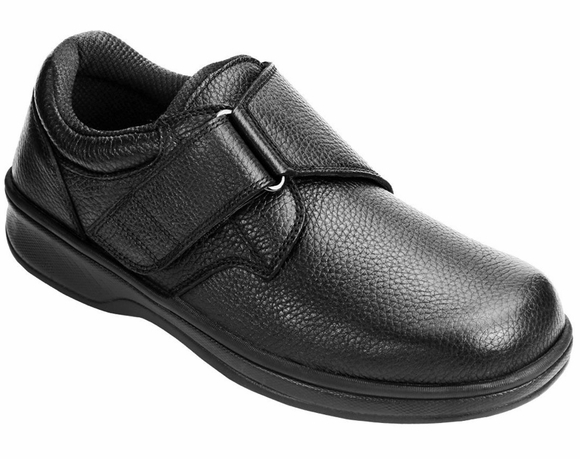 Orthofeet Broadway - Men's Adjustable Strap Shoe