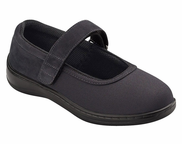 Orthofeet Springfield - Women's Stretchable Mary Jane