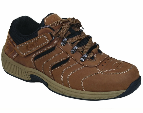Orthofeet Shreveport - Men's Tie-Less Hiking Shoe