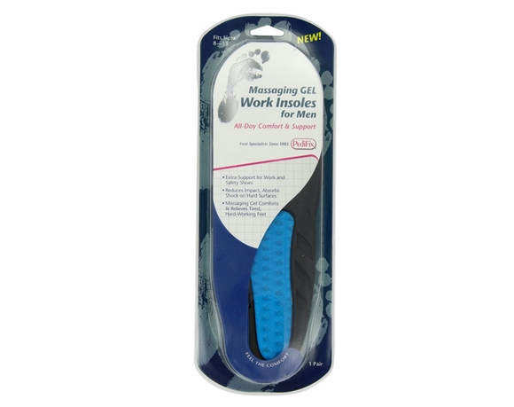 Pedifix Massaging Gel Work Insoles - Men