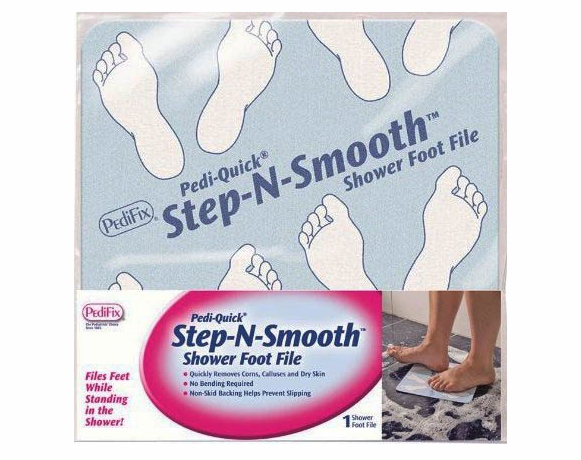 PediFix Pedi Quick Step-N-Smooth - Shower Foot File