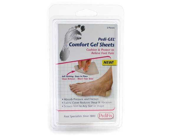 PediFix PediGel Comfort Gel Sheets - For Foot Pain