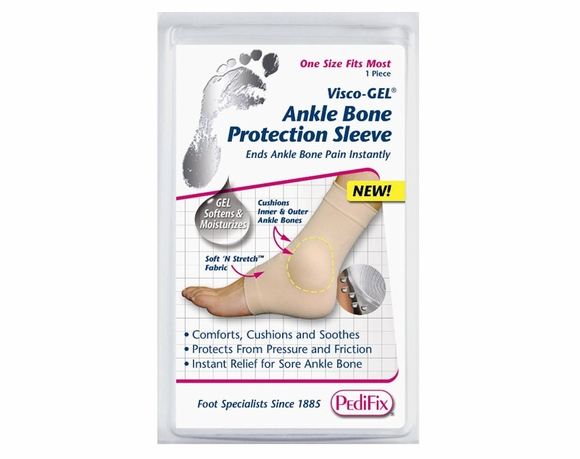 PediFix ViscoGel Ankle Bone Protection Sleeve