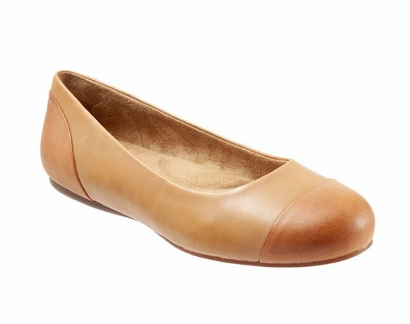 Softwalk Sonoma Cap Toe - Women's Flat